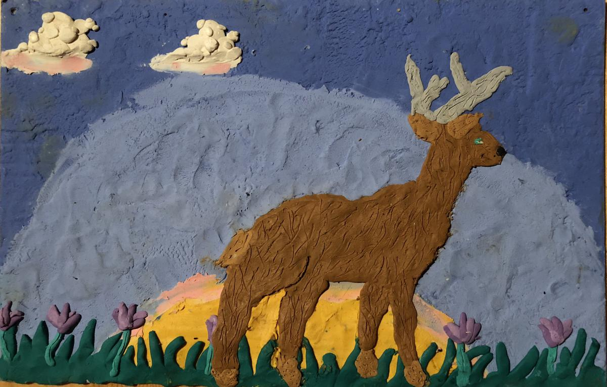 June- Kiera , Gr. 5, Fort Nelson (Deer)