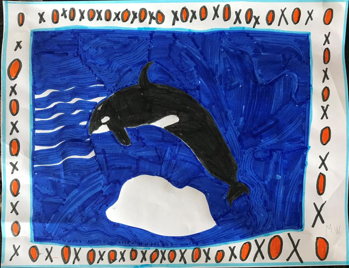 October- Mason, Gr. 2, Kamloops (Orca)