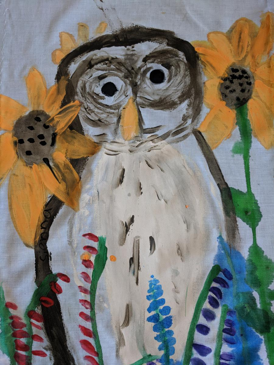 July- Sienna, Gr. 3, Powell River (Owl)